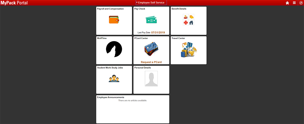 Employee Self Service – Human Resources Information